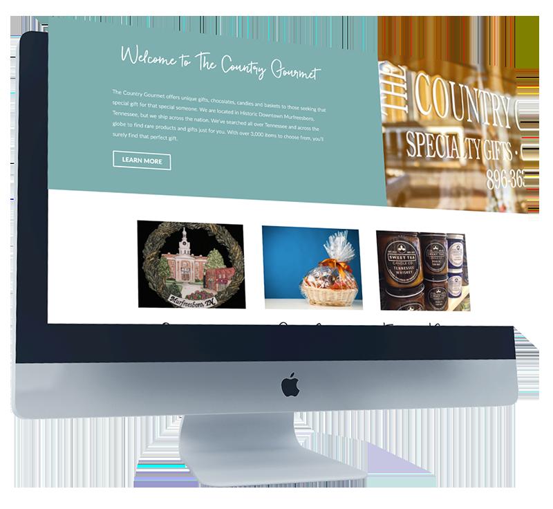 Country Gourmet Web Development